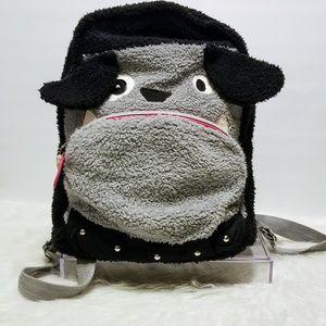 Bulldog Furry backpack